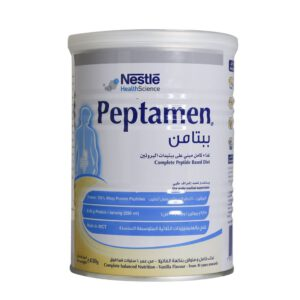 پودر پپتامین با طعم وانیل نستله