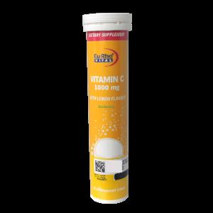 قرص جوشان ویتامین 1000 میلی گرم C یوروویتال